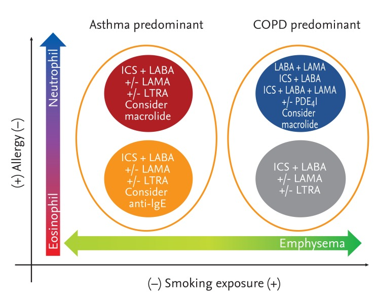asthma copd overlap syndrome